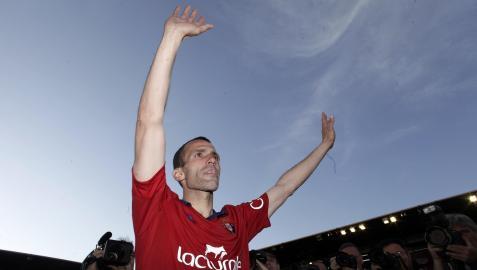 Despedida y último partido de Patxi Puñal como jugador de Osasuna