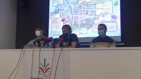 Presentación del programa de actividades del Nafarroa Oinez 2021