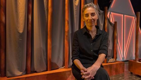 Actriz de teatro Marta Juániz
