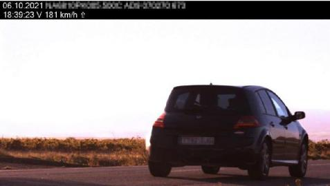 Vehículo a 181km/h en Corella