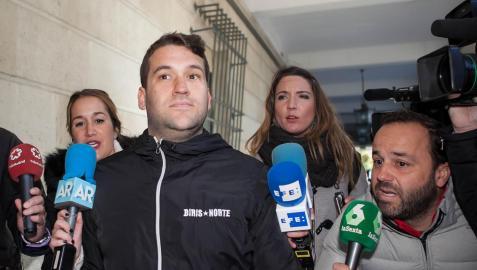 José Ángel Prenda, uno de los integrantes de 'La Manada', condenados por la violación a una joven en San Fermín