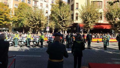 Celebración del 12 de Octubre de 2021 en Pamplona