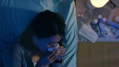 Los síntomas de las alergias empeoran por la noche