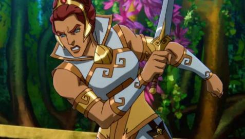 Teela, la nueva heroína de 'Masters del Universo: Revelación'