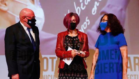 El acto de entrega del premio ha tenido lugar en el Recinto Ferial de IFEMA Madrid, en el marco de las actividades de la Feria Internacional del Libro