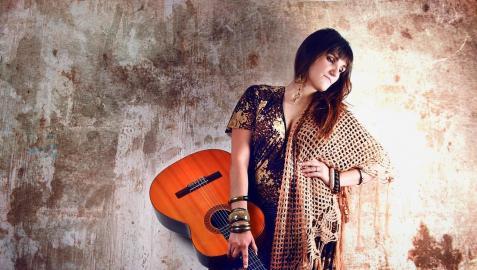 Una imagen promocional de Rozalén