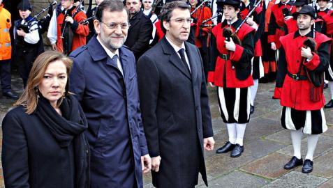 Funeral por Manuel Fraga en la Catedral de Santiago de Compostela