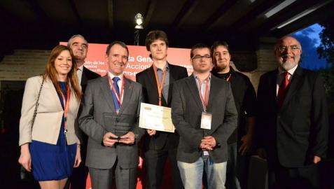 Cuatro estudiantes de la UPNA ganan el premio UniPROYECTA