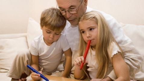 Conferencia abuelos nietos