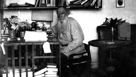 Tolstói fue de los primeros escritores en ser entrevistado