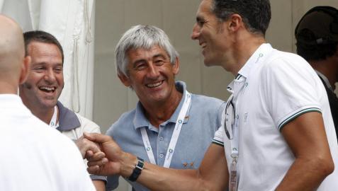 Javier Elizalde revive la carrera de Induráin