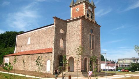 La iglesia del antiguo colegio de Lekaroz será un vivero de empresas