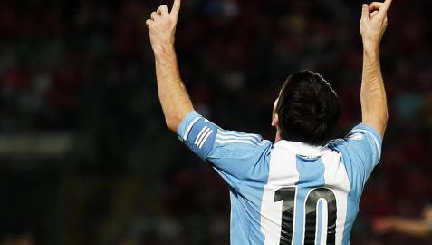 Argentina y Messi siguen imparables rumbo a Brasil 2014