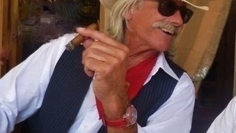 Keith Baumchen, más conocido como 'Bomber', venía a Pamplona por San Fermín desde hacía más de 40 años.