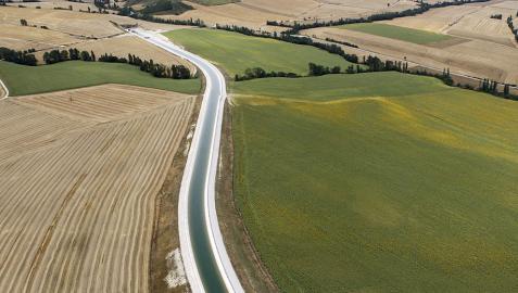 Autorizado  para el Canal de Navarra  el tercer acuerdo de actualización