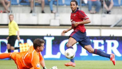 Un gran gol de Onwu le permite a Osasuna empatar en Burgos