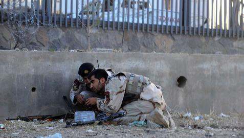 Insurgentes talibanes atacan el consulado de Herat (Afganistán)
