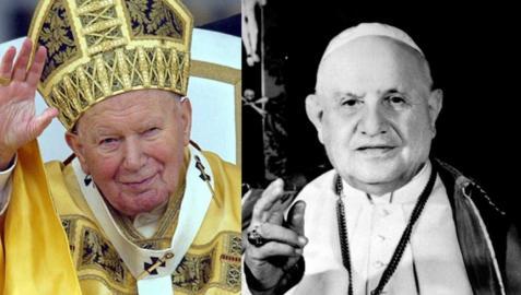 Juan Pablo II y Juan XXIII serán proclamados santos el 27 de abril