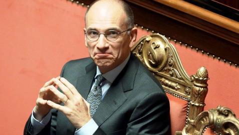 Letta dice que Italia corre un riesgo fatal e irremediable si cae el Gobierno