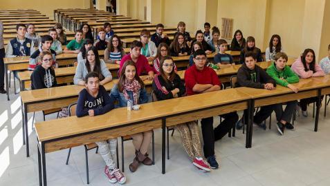 El Puy suma el alemán a la oferta extraescolar de los centros de Estella