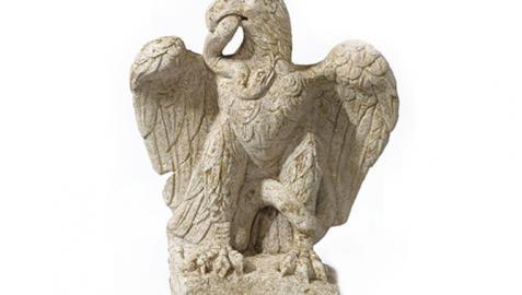 Un águila romana de 2.000 años en la City