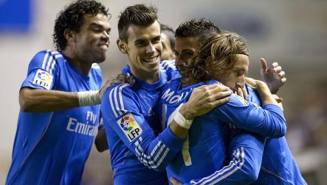 El Madrid saca su pegada en Vallecas