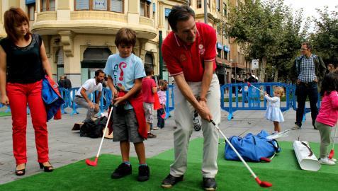 Más de 110 golfistas participarán en el III Torneo benéfico Goizargi