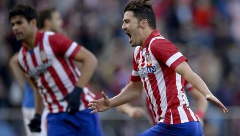 Villa, Diego Costa y la firmeza del Atlético anulan al Athletic