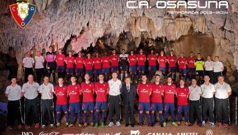 Hoy, gratis el póster de Osasuna