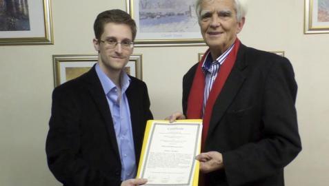 Snowden llama a la rebelión ciudadana contra el espionaje