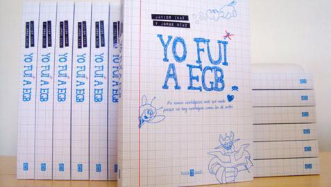 'Yo fui a EGB', el libro para los niños de los años 70, 80 y 90