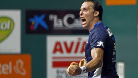 Irujo logra el pase a semifinales ante un gran Ezkurdia (22-21)