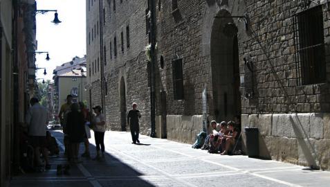 Aumentan un 17% los peregrinos que han pasado por Roncesvalles