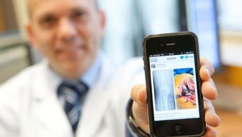 Un médico crea en Navarra una red social de imágenes para facultativos