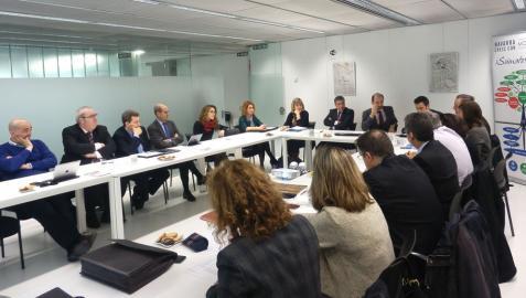 20 entidades y empresas participan en la Mesa de Internacionalización