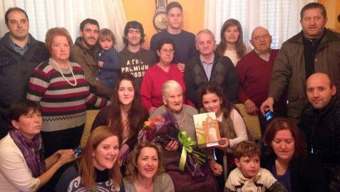 Marina Butrón cumple 100 años