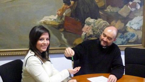 El Arzobispado dona  dos parroquias sin uso a Izagaondoa