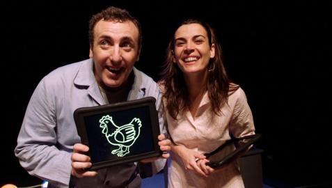 Teatro con 'La piel de gallina' en Burlada