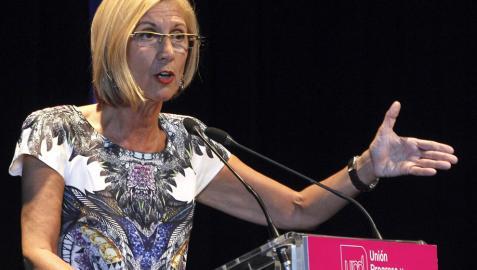 Rosa Díez, convencida de que UPyD decidirá cómo se gobierna en España