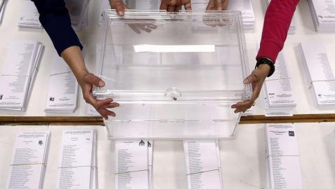 Cuenta atrás en Pamplona para las elecciones europeas