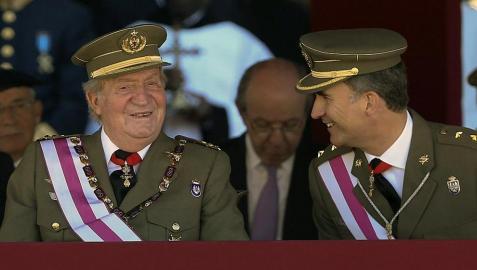 La proclamación en las Cortes de Felipe VI  sería a partir del día 18