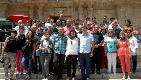 Miranda de Arga, final de fiesta de los 10 años de la mancomunidad
