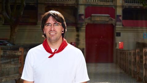 Sergio Colás, en la plaza de toros