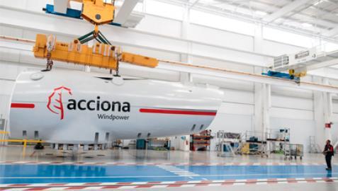 Acciona Windpower fabricará aerogeneradores en Brasil