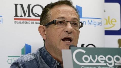 El jefe de los servicios médicos de Osasuna, Patxi Cipriain