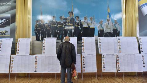 Los ucranianos afrontan sus primeras elecciones sin Yanukovich ni Crimea