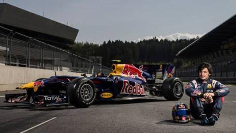 Sainz Júnior, con el Red Bull