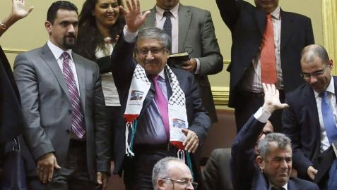 Todos los grupos piden el reconocimiento del Estado palestino