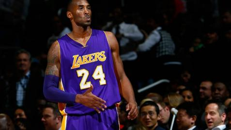 El escolta Kobe Bryant