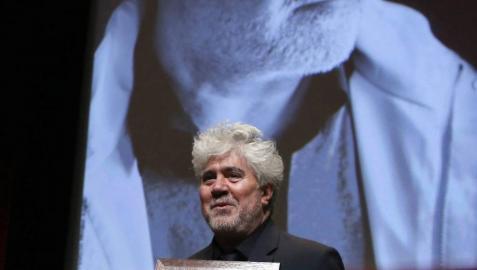 Pedro Almodóvar recibe en Lyon el Premio Lumière